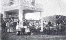 1912: Castle Breweries Salisbury Show stand