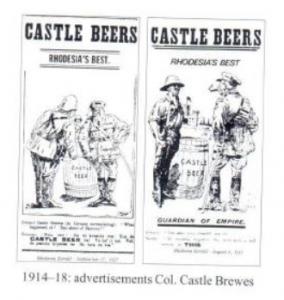 1914-18: advertisements Col. Castle Brawes