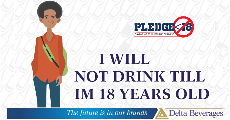 PLEDGING AGAINST UNDERAGE ALCOHOL CONSUMPTION