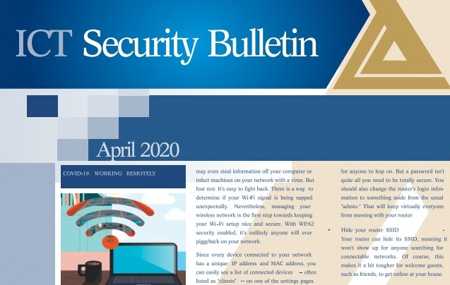ICT Security Bulletin