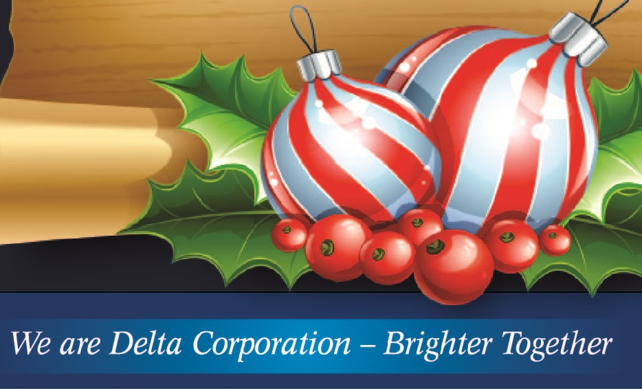 Happy Holidays from Delta Corporation